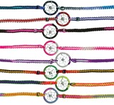 Tie-On Dreamcatcher Friendship Bracelet