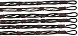 Hemp Braid Leather Bracelet Assorted