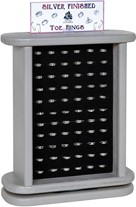 Double Sided Toe Ring Display (Does Not Include Merchandise)