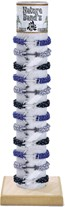 Anchor Solid Paracord Bracelet Assorted (B) With Tube & Base